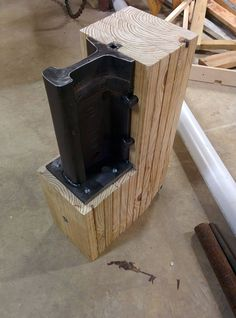 short sugar anvil stand - Google Search Homemade Forge, Homemade Tools, Metal Crafts, Metal Projects, Welding Projects, Welding Ideas, Garages, Cool Tools, Diy Tools