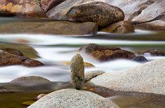 #DavidGardner #Landscape #Photography #PhotographicInterest #FineArt #Art #Multimedia #Images #Nature #SubtleMoment #Water #River #PemigewassetRiver #Balance #GetArtUp