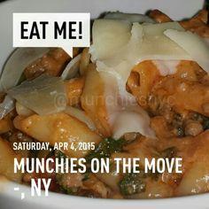 Pasta done right! #MunchiesNYC #eats #foodgasm #nomnomnom #nofilter #yougottaeatthis #delicious #nom #pasta #goodeats