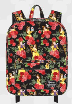 40.00$  Watch here - http://viujg.justgood.pw/vig/item.php?t=f13rsr343971 - Disney Beauty and the Beast Backpack Loungefly 2017 NEW RELEASE Belle Floral NWT 40.00$
