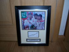 Andrew Freddie Flintoff Signed & Framed England Cricket Photo & A1 Certificate