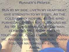 Runner's Prayer #running