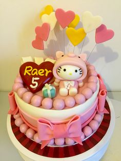 Hellos kitty cake