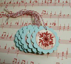 i love aqua and red soo much, i made these tags for my etsy shoppe!