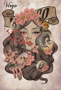 Virgo - think this could make a cool tattoo since I am actually a lot like my sign
