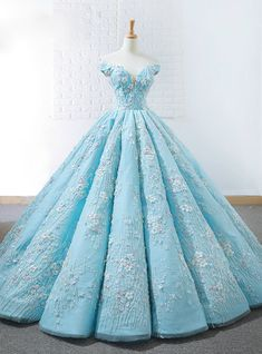 Off Shoulder Tiffany Blue Ball Gown Cheap Long Evening Prom Dresses, Cheap Custo. - Off Shoulder Tiffany Blue Ball Gown Cheap Long Evening Prom Dresses, Cheap Custom Sweet 16 Dresses, 18532 Source by cilenealba - Blue Ball Gowns, Ball Gown Dresses, Dresses Dresses, Long Dresses, Formal Dresses, Party Dresses, Blue Gown, Cheap Gowns, Cheap Prom Dresses