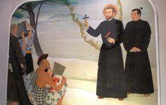 La primera conversión al cristianismo en Japón de la que se tiene documentación sucedió en 1547, y no es la típica historia milagrosa y beata.  Todo lo contrario, con unas pocas pinceladas aquí y allá podría salir una entretenida película de aventuras en los mares del Sur. Los protagonistas, un sa
