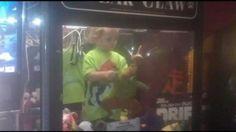 Boy Found in Claw Machine