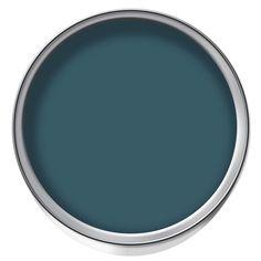 Wilko Statement Matt Emulsion Paint Tealtastic 1.25ltr {to paint old sideboard}
