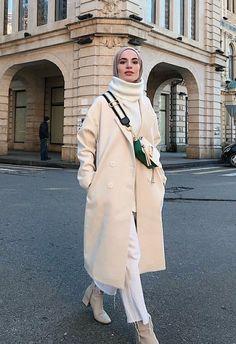 Modest Fashion Hijab, Modern Hijab Fashion, Street Hijab Fashion, Casual Hijab Outfit, Modesty Fashion, Islamic Fashion, Muslim Fashion, Modest Outfits, Korean Fashion
