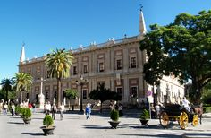 andulusian spain   ... ES · the archives of the indies, Seville city - Andalusia , Spain