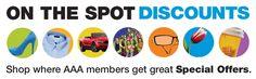 AAA Hot Deals & Specials: Find New Exclusive Member Discounts Everyday @ AAA!