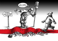Mana Neyestani on the Non-Aligned Movement Summit in Tehran, Iran.