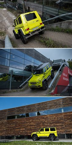 Obstacles? No chance! Photos by Helix4Motion (www.helix4motion.com) for #MBsocialcar [Mercedes-Benz G 500 4x4² | Fuel consumption combined: 13.8 l/100km | combined CO₂ emissions: 323 g/km | http://mb4.me/efficiency_statement]
