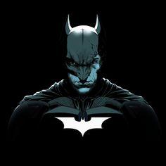 Batman The Dark Knight Rises Broken Mask color by garnabiuth.deviantart.com on @deviantART