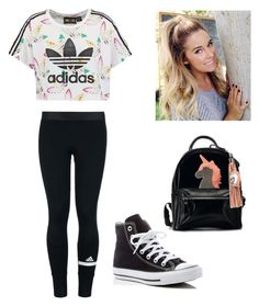 """""""Adidas"""" by diazmermaid on Polyvore featuring adidas Originals, adidas and Converse"""
