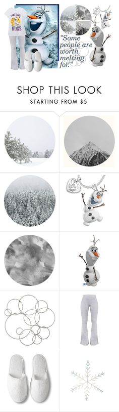 """Olaf"" by carg1212 ❤ liked on Polyvore featuring beauty, The Bradford Exchange, Disney and Pier 1 Imports"