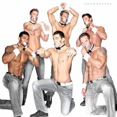 The Chippendales supporting NOH8!