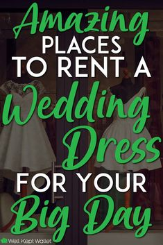 4 Amazing Place to Rent Your Wedding Dress : For brides looking to save money, renting a wedding dress is a simple solution to saving even thousands of dollars. Here are the best places to rent. Rental Wedding Dresses, Rent Dresses, Dress Rental, Wedding Gowns, Fairy Wedding Dress, Places To Rent, Bride Look, Wedding Bells, Wedding Rings