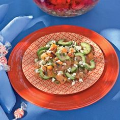 Tomato and Cucumber Salad | A Wrestling Addicted Mommy