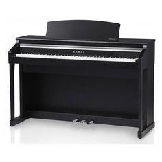 Piano Numérique Meuble Kawai Ca15 Noir Satin - NOUVEAUTÉ 2013 - Piano digital CA15 88 touches - nouvelle mécanique RM3 GRAND II 88 touches bois avec simulation d'échappement - surface tactile du clavier en ivoire de synthèse - nouvelle électronique à 3 capteurs - finition noir satin.