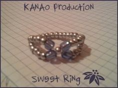 Sweet Ring  •  Make a beaded band ring in under 30 minutes