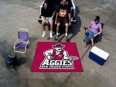 """Tailgater Mat (60""""x72"""") - New Mexico State University"""