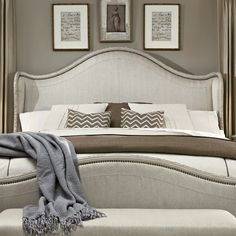 A.R.T. Chateaux Upholstered Headboard