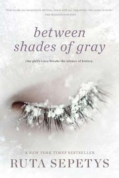 between shades of gray by RUTA SEPETYS. An aspect of the brutality of WWII that I never new about before reading this book. Sepetys presents a horrendous event in a thoughtful, heartfelt, creative and ultimately uplifting way. A MUST READ for everyone, especially those with an interest in the Holocaust, Stalin and/or Lithuania.