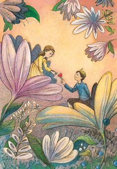 thumbelina illustrations - ค้นหาด้วย Google