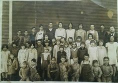 School picture taken around 1931. Top right is my Grandfather Alvin Murdock and he taught in Garvin county OK at Cross Roads, Antioch, Klondike, and Shady Grove. My Mother Fleeta Murdock (9) years old is 3rd from right in 2nd row and her sister Wanda is 2nd from left in 2nd row! My Grandfather retired from teaching in 1931 after 20 years service. He held positions as teacher, Principal, and Superintendent!