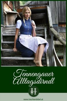 Ein tolles traditionelles Dirndl, das gerade wieder voll im Trend liegt ist das Tennengauer Alltagsdirndl. Erfahre hier alles dazu. #dirndlstyle #dirndltipp #trachtenkunde Trends, Around The Worlds, Chic, Celebrities, Pretty, Vintage, Women, Board, Ideas