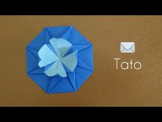 Origami Flower Tato/Octagonal Tato 折纸八方花信封 (3) - YouTube Origami Box, Origami Flowers, Paper Boxes, Envelopes, Vases, Channel, Make It Yourself, Music, Youtube