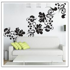 Floral Bloom  Wall Decal by Decorette on Etsy