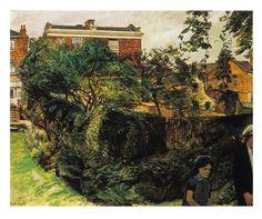 Carel Weight, A Neighbour's Garden (1966)