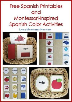 Blog post at LivingMontessoriNow.com : It's the 15th of the month, and I have a new post at PreK + K Sharing! Here, I'm sharing the links to free Spanish printables for presch[..]