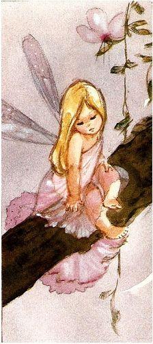 illustration de Mary Brooks : Talking to God . Fairy Dust, Fairy Land, Fairy Tales, Mermaid Fairy, Baby Fairy, Magical Creatures, Fantasy Creatures, Fantasy Kunst, Fantasy Art