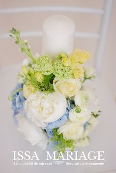 Pillar Candles, Christening, Bouquets, Events, Table Decorations, Baby, Wedding, Home Decor, Weddings