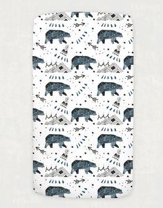 Little Bear Crib Fitted Sheet - Rock & Rollick