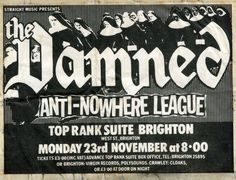 1981 gig flyer.