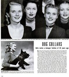"1944: Reviving the trend, as seen in""Life magazine. 