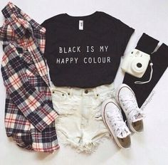 16 Cute Hipster Outfits to Glare - Ninja Cosmico Teen Fashion Outfits, Outfits For Teens, Trendy Outfits, Trendy Fashion, Girl Outfits, Teen Hipster Fashion, Punk Fashion, Hipster Summer Outfits, Daily Fashion
