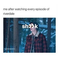 "31.8k Likes, 63 Comments - riverdale (@riverdalepost.s) on Instagram: ""i'm the surprised i have the energy to type this caption"""