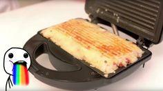 Deliciosamente simples: Batata Rosti feita na Sanduicheira