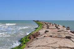 "South Padre Island, Texas  The ""Jetties""...great place to vacation"
