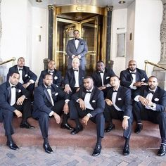 The groom and his squad! Love when our grooms get to celebrate with their bros. by @TheProswedding #favoredbyyodit #belvederebaltimore #dcweddingplanner #wedding #baltimoreweddings #favoredbyyoditevents #mcm #munaluchibride #GroomInspiration #Groom #GroomsMan #GroomsMen #BlackTie #BlackTux #BlackAndWhite