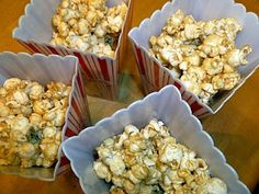 Gluten, dairy and soy free caramel corn.  Such a crowd pleaser.