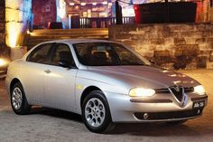 Alfa Romeo 156 my was silver 1999 just like picture here.