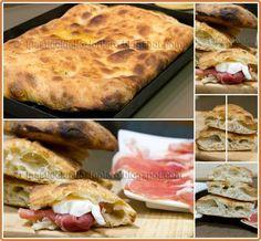 panfocaccia Pizza Recipes, Bread Recipes, Focaccia Pizza, Cooking Bread, Charcuterie, Delicious Sandwiches, Salty Cake, Original Recipe, Street Food
