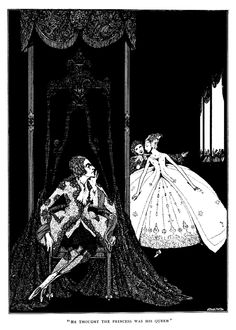 Illuthe fairy tales of Charles Perrault illustrated by harry clarke